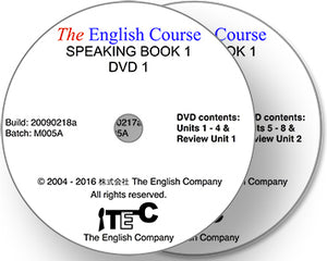 The English Course - Speaking Book 1: 2 x DVD Set