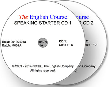 The English Course - Speaking Starter: 2 x CD Set