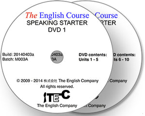 The English Course - Speaking Starter: 2 x DVD Set (Teacher's Copy)