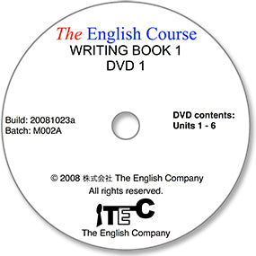 The English Course - Writing Book 1: DVD 1 Only (Student's Replacement Copy)