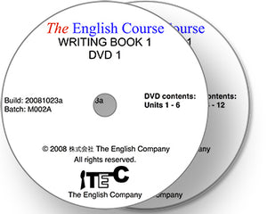 The English Course - Writing Book 1: 2 x DVD Set