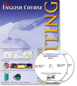The English Course - Writing Book 1: Student's Book and DVD Set