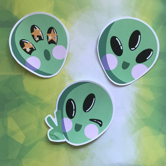 Kawaii Alien Set