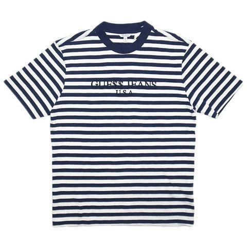 A$AP Rocky x Guess Stripe T Shirt