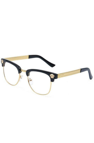 Medusa Gold Acetate Sunglasses