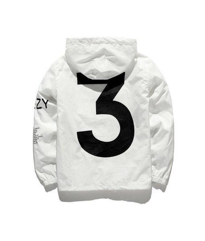Yeezy 3 Windbreaker / White