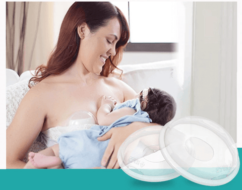 Image of 2PCS Breastmilk Collector Shells
