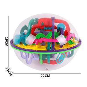 Sizes 299 Steps 3D Magic Intellect Ball Marble Puzzle-Puzzle Toys