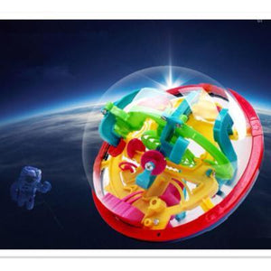 In space 299 Steps 3D Magic Intellect Ball Marble Puzzle-Puzzle Toys