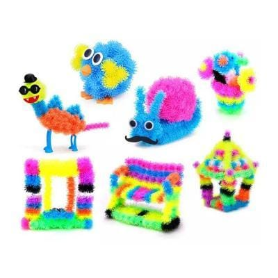 Image of Puff Ball Building Blocks-Puzzle Toys