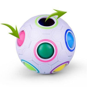 Magic Rainbow Ball-Puzzle Toys