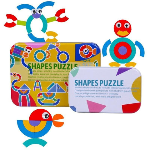 Image of Legend of The King Puzzle Shapes