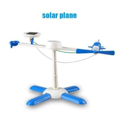 Image of Solar Powered 6 in 1 Robot Kit DIY Educational Toy-Puzzle Toys
