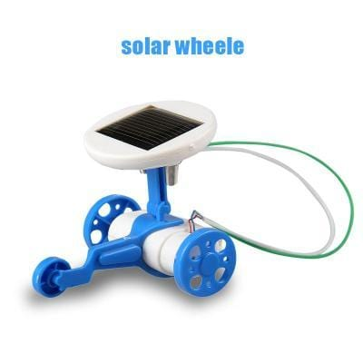 6 in 1 Solar Robot Kit-Puzzle Toys
