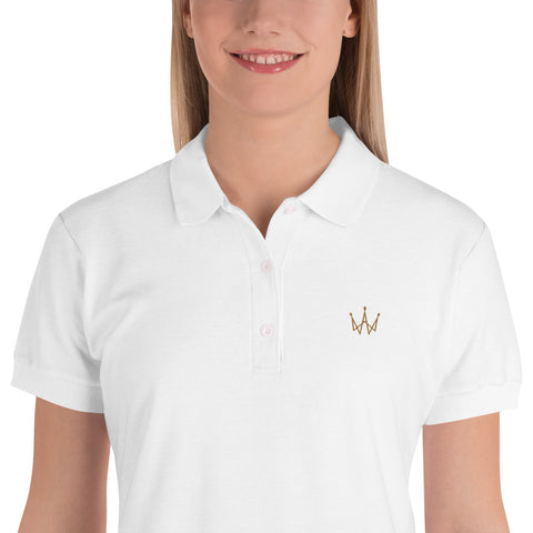 11ish Embroidered Women's Polo Shirt