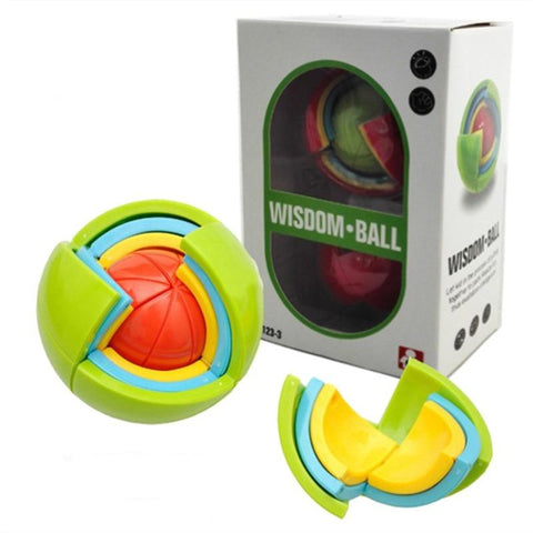 Product box Wisdom Ball 3D Intelligence Magic Puzzle Toys - Puzzle Toys