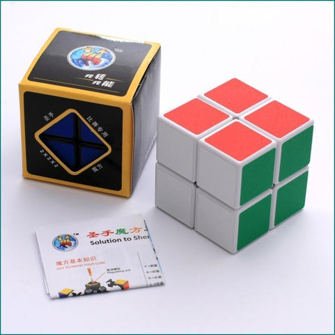 Image of Box and Beginners Puzzle Cube Game - Puzzle Toys