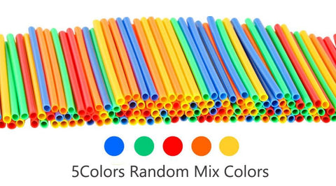 Image of Colour variant Straw Building Blocks Educational Toys - Puzzle Toys