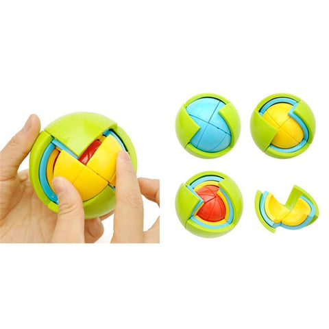 Image of Assemble stages of Wisdom Ball 3D Intelligence Magic Puzzle Toys - Puzzle Toys