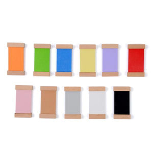 Wooden Montessori Sensorial Colour Tablet 2nd Box