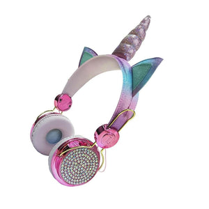 Design Unicorn Headphone With Microphone