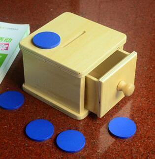 Image of Drawer Box with Token-Puzzle Toys