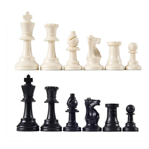 Classic Staunton Style Chessmen (Learning Edition)