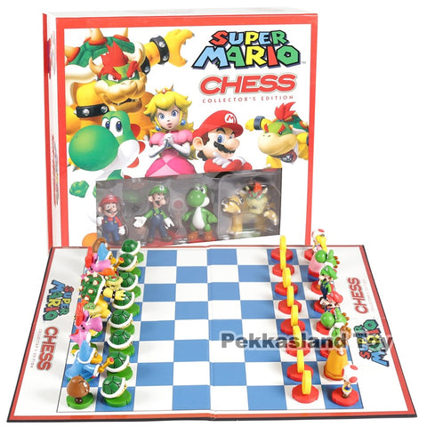 Image of Super Mario Brothers Chess Set