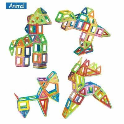 Image of Magnetic Building Blocks-Puzzle Toys