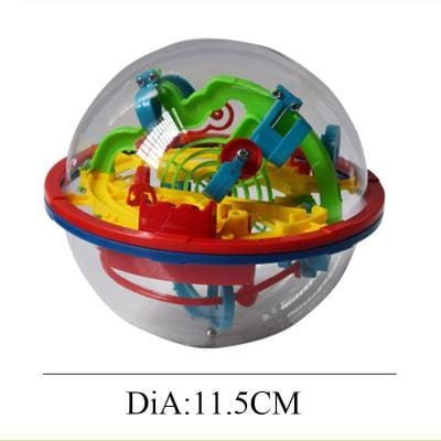 Image of Size 100 steps 3d magic intellect maze ball-Puzzle Toys