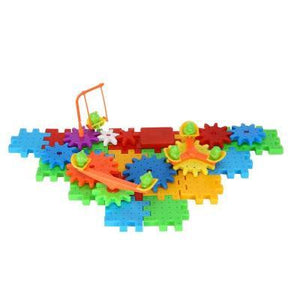 Electric Magic Gears Building Blocks-Puzzle Toys