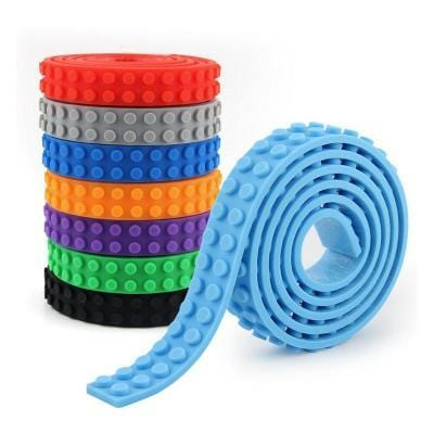 Rolls of Building Block Adhesive Plastic Tape