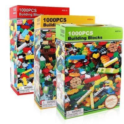 Image of Building Blocks Bricks Set-Puzzle Toys