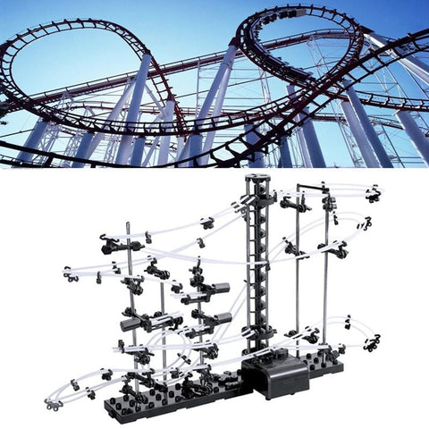 Image of Marble Run Rollercoaster Level 2-Puzzle Toys