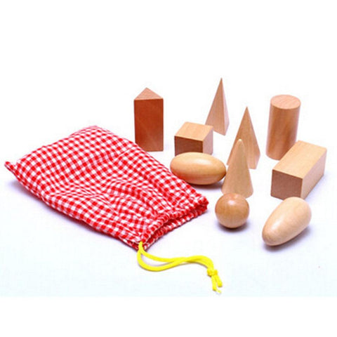 Montessori Mystery Bag Sensorial Wooden Toys-Puzzle Toys