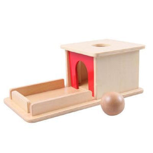 Box with Ball-Puzzle Toys