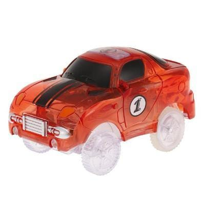 Electronics LED Car Flashing Lights for Magic Tracks Glowing Racetrack-Puzzle Toys