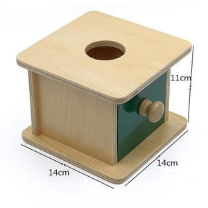 Wooden Ball Drawer Box-Puzzle Toys