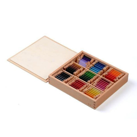 Image of Wooden Montessori Sensorial Colour Tablet 3rd Box-Puzzle Toys