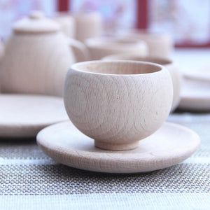Wooden Tea Set-Puzzle Toys