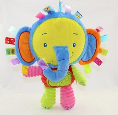 Image of The Jungle Animals Rattles  Plush Toys