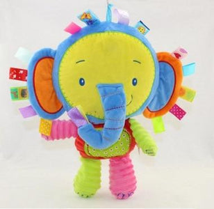 The Jungle Animals Rattles  Plush Toys