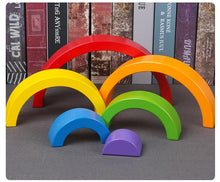 Wooden Rainbow (6 bows)
