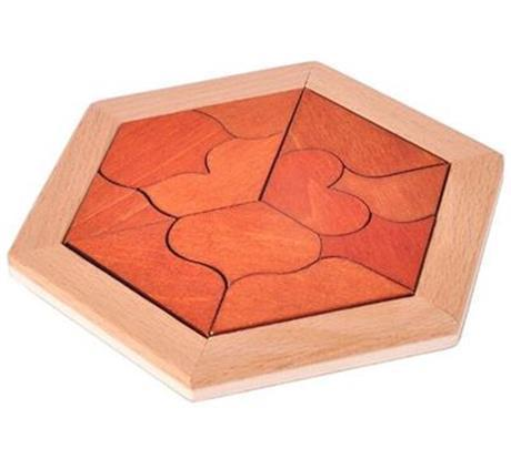 3D Wooden Interlocking Mechanical Puzzle Brain Teasers-Puzzle Toys
