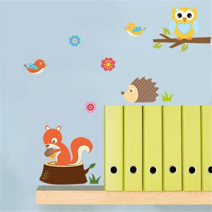 Wall Stickers Forest Animals-Puzzle Toys