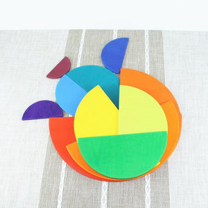 Large 11 Piece Semicircle Rainbow