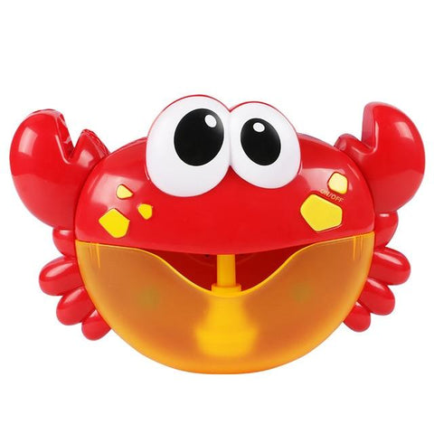 Image of Bubble Maker Frog, Whale, Octopus & Crabs Bath Toy