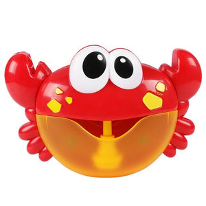 Bubble Maker Frog, Whale, Octopus & Crabs Bath Toy