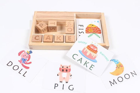 Words Spelling Game-Puzzle Toys