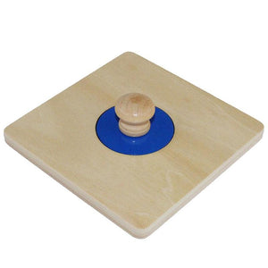 Montessori Wooden Shape Matching Puzzles